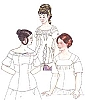 Past Pattern Early-to-Mid-Nineteenth Century Stays  Sewing Pattern